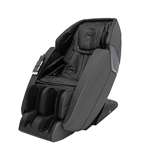 Ti-Prime 3D New Technology Full Body Massage Chair FDA Zero Gravity Recliner with Tapping, Heating and Foot Rollers Best Massage Chair (Black)
