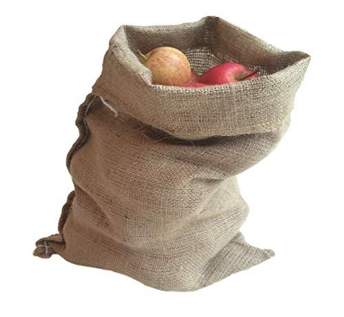 Nutley\'s Patata sacco, tela, piccolo, di 30 ° x 45 ° cm °, 252,31 ° g, Confezione da 10 pezzi