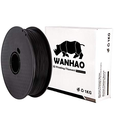 PLA PREMIUM NERO WANHAO 1KG/1,75mm - Filamento per stampante 3D FDM