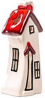 Teelichthalter Weihnachten Seyko Windlicht Haus Laterne Lichthaus Deko Haus H 17cm