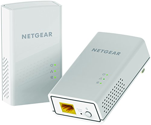NETGEAR PowerLINE 1200 Mbps, 1 Gigabit Port (PL1200-100PAS),White
