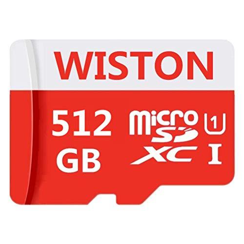 Tarjeta de Memoria Flash Micro SD SDXC de 512 GB/1024 GB de Alta Velocidad con Adaptador Gratuito 512 GB