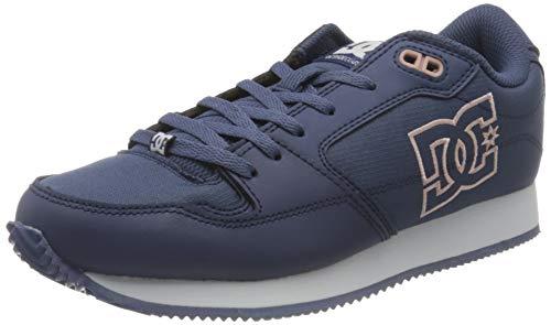 DC Shoes Alias, Zapatillas Mujer, Lt Navy/Pink, 37 EU