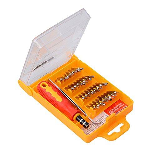 zNIgHT reparatie schoon gereedschap | 32 In 1 Precisie Torx Schroevendraaier Reparatie Gereedschap Set voor mobiele telefoon Laptop Draagbaar, OneSize, Onecolor