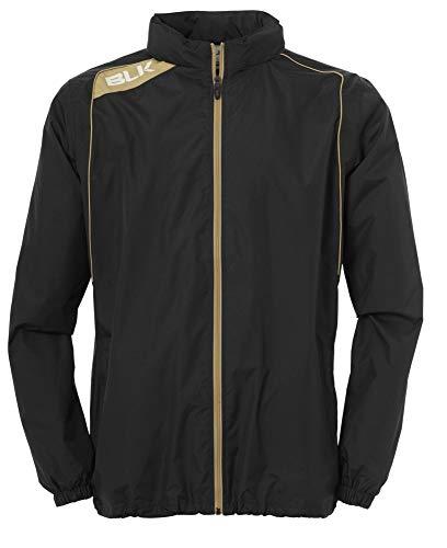 BLK Kinder Rain Jacket Bekleidung Teamsport, Schwarz/Gold, 2XL