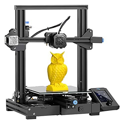 Offizieller Creality Ender 3 V2 3D-Drucker mit geräuscharmer Hauptplatine MeanWell Netzteil Carborundum Glasplatte und Druckwiederaufnahme 220*220*250mm