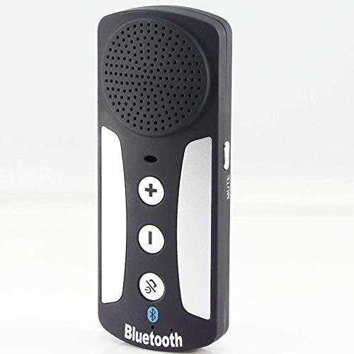 qwertyuio Teléfono Vintage Visera para Coche Coche Bluetooth Manos Libres Sistema Telefónico Bluetooth Conexión Teléfono Mensaje De Voz
