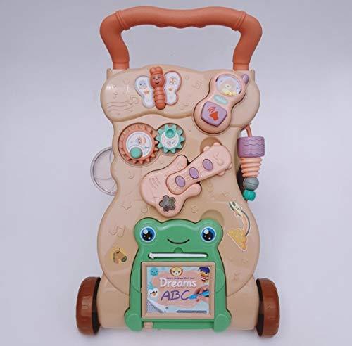 Correpasillos andador bebé, primeros pasos, multifuncion, con varios juguetes extraibles, guitarra electrica,...