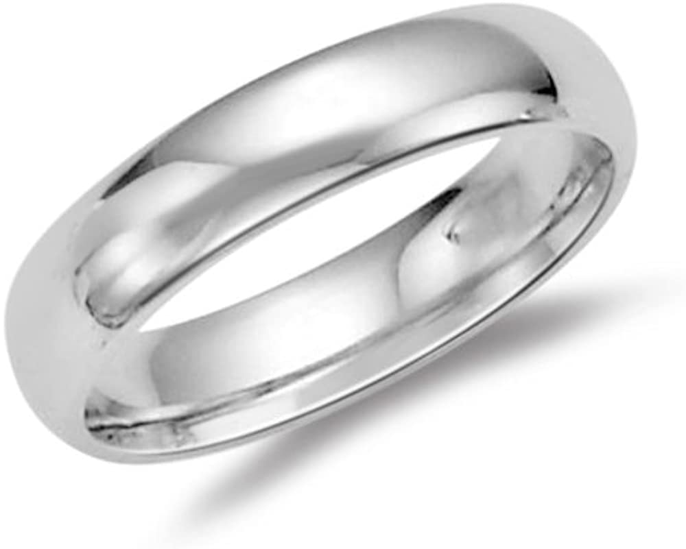 Mysticdrop 55% OFF 6 mm Comfort-Fit Wedding in Ranking TOP20 Silver Sterling Band