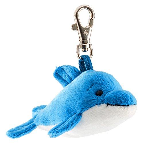 Schaffer 0240 Delfin Anhänger, unisex-child, Blau, ca. 11 cm