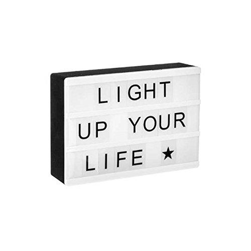 marque Atmosphera, créateur d'intérieur Boîte LED Lumineuse à Messages magnétique
