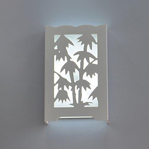 HHCH wandlamp, origineel, gesneden, ultradun, LED, wandlamp, retro