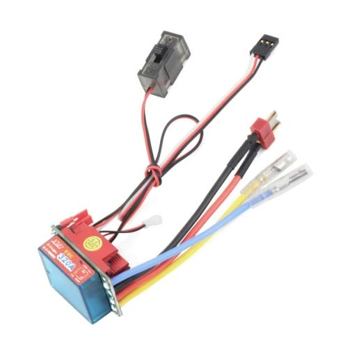 High Voltage ESC Brushed Bidirection Speed Controller 320A for RC Car