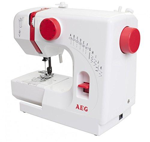 Mini Nähmaschine AEG NM100 -  11 Nähprogramme