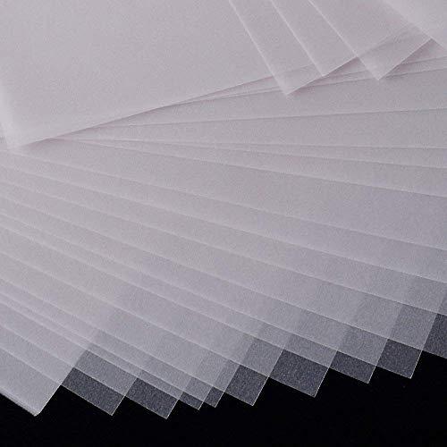 150Hojas Papel de Calco Translúcido Transparente A4 63gr/m² para ...