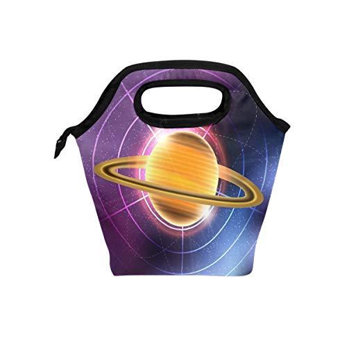 Montoj Saturn Planet Kühltasche für Erwachsene