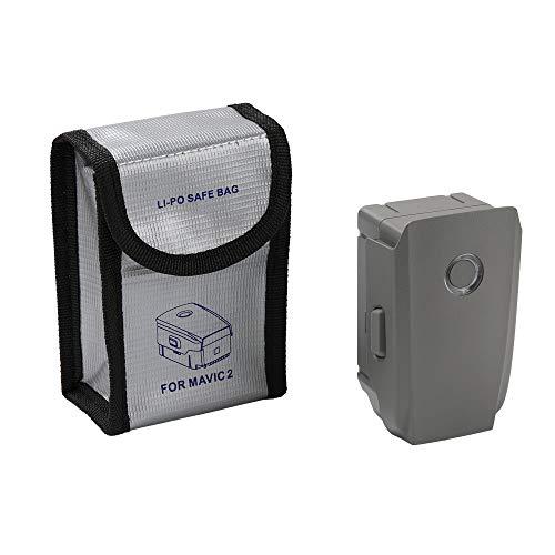 L9WEI - Bolsa de seguridad para batería DJI Mavic 2 Pro/Zoom, resistente al fuego y a las explosiones, bolsa de almacenamiento protectora (gris, A)