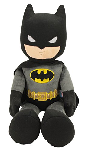 "Batman 21"" Collectible Plush, Grey/Black and Gold"