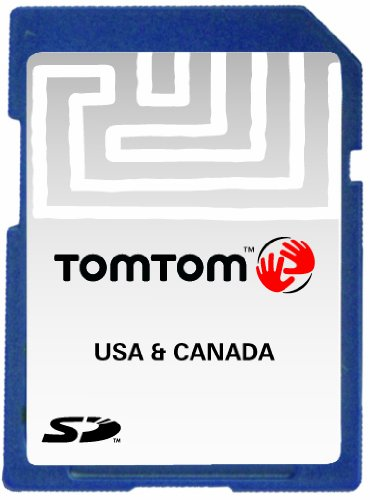 TomTom Map voor VS en Canada SD v8.30