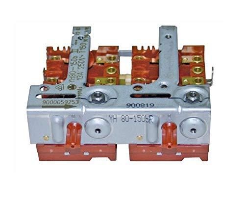 Kochplattenschalterblock für Herd 2er-Einheit YH801/50bII rechts Bosch 00496808