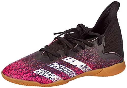 adidas Predator Freak .3 IN J, Zapatillas de fútbol, NEGBÁS/FTWBLA/ROSSHO, 36 EU