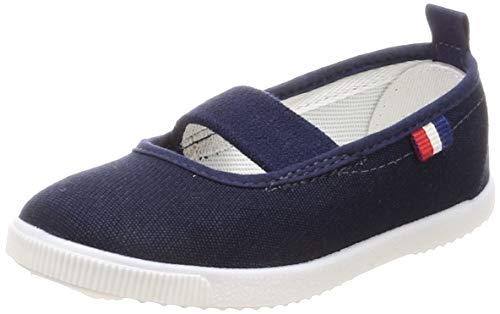 [ムーンスター] フレッシュメイト 52 上履き 上靴 室内履き 日本製 子供から大人まで (25.5, ネービー)