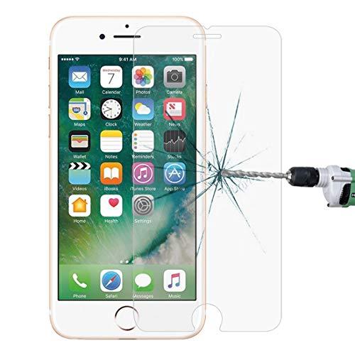 Nieuwe Tangyong CL for de iPhone 8 Plus en iPhone 7 Plus 0.26mm 9H Hardheid van de oppervlakte 2.5D explosieveilige gehard glas niet-volledig scherm Film