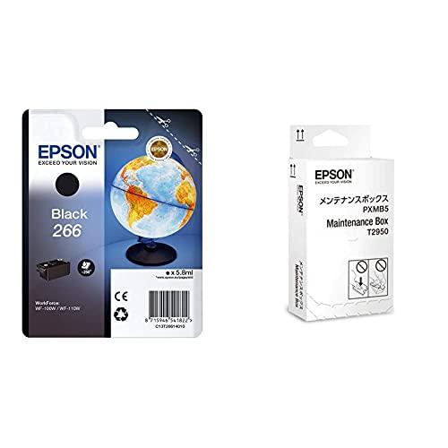 EPSON Workforce Ink Cartridge, Black &C13T295000 - WF100W MAINTENANCE BOX