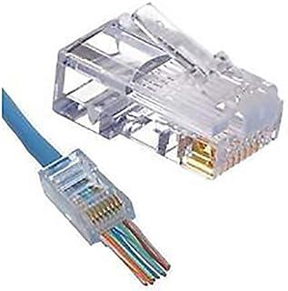 EZ-RJ45 Modular RJ45 Connectors - 100 Pack