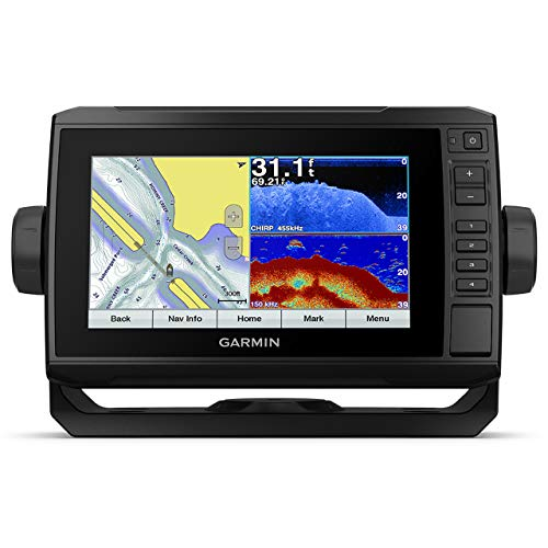 "Garmin echoMAP Plus 72cv 7"" Chartplotter and Fishfinder Combo with GT20-TM Transducer (010-01892-01)"