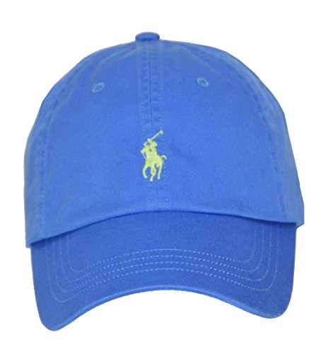 Polo Ralph Lauren Men/Women Cap Horse Logo/Adjustable, Cyan Blue