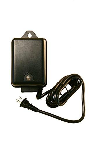 Best Pro Lighting 60 Watt Transformer 120 Volt AC to 12 Volt LED & Halogen - Low Voltage Landscape Lighting Outdoor Weatherproof Electric Power Pack w Photocell Sensor & Timer - Black Case
