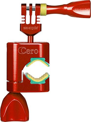 iSHOXS Cero - Aluminium Action Halterung in offener, kompakter C-Konstruktion - Rot