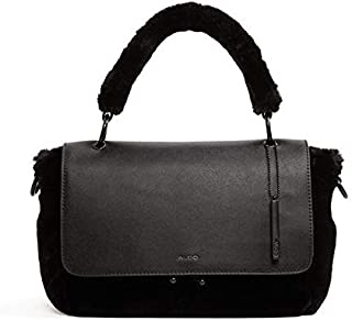 Aldo Raisin Frame Bag for Women - Black Velvet