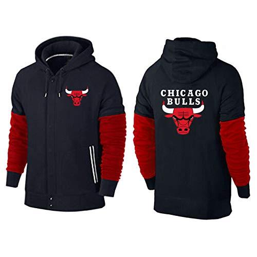 Jordan 23# - Sudadera de baloncesto retro, diseño de toros de otoño e invierno, camiseta de entrenamiento de otoño e invierno, sudadera de ocio de manga larga y cálida