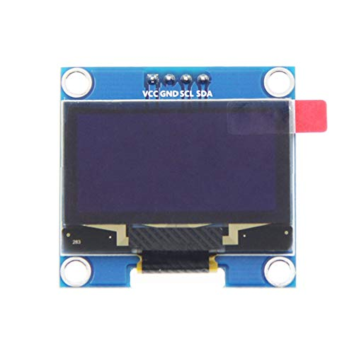 Cobeky 1.3 Inch OLED Module Blue 128X64 OLED LCD LED Display Module IIC Serial Communication for Diy Kit