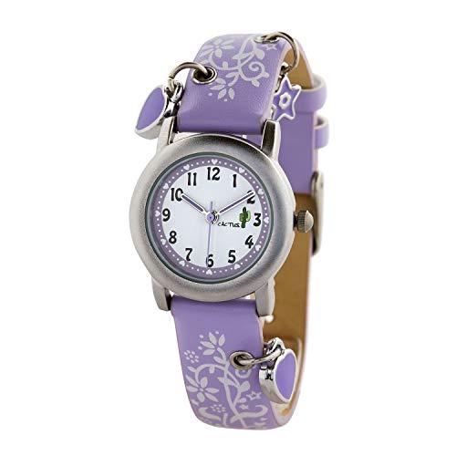[カクタス] キッズ腕時計 CAC-28-L09 ガールズ 正規輸入品 パープル