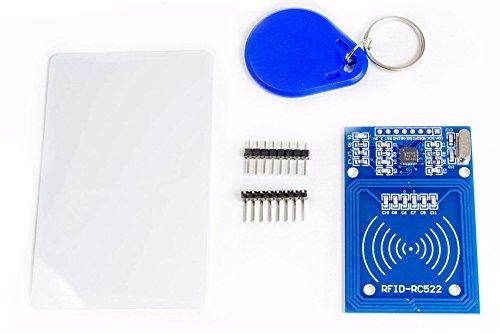 MissBirdler RFID Reader Module RC522 Mifare IC Cards für Arduino Raspberry Pi Prototyping