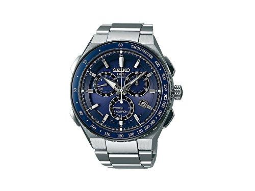 Seiko Astron GPS Solar Chronograph SSE127J1 Reloj elegante para hombres Recepción de GPS para hora & huso horario