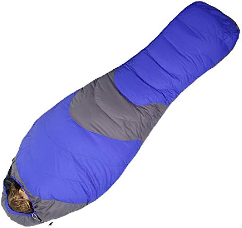 Winter Schlafsack Outdoor Duck Down für kaltes Wetter Trekking Wandern Camping Schlafscke Nylon Mummy Schlafsack Erwachsene