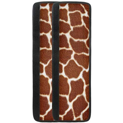 LedBack Fashion Giraffe Striped Pattern Fridge Door Protect Case Set of 2 Pack Kitchen Home Anti Skid Cover Ladies Dishwashers Ovens Decoration Gloves Easy Install and Clean Keep Off Fingerprints