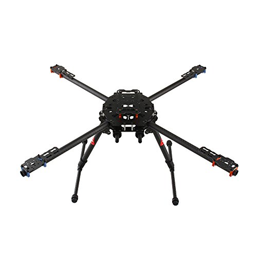 TAROT 650 Carbon Fiber 4-Axis Aircraft Fully Folding FPV Drone UAV Quadcopter Frame Kit for DIY Aircraft Helicopter TL65B01