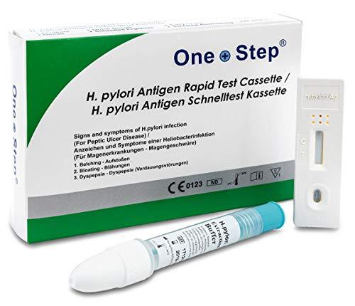 Helicobacter H Pylori - Kit fecal - Un paso (2 pruebas)