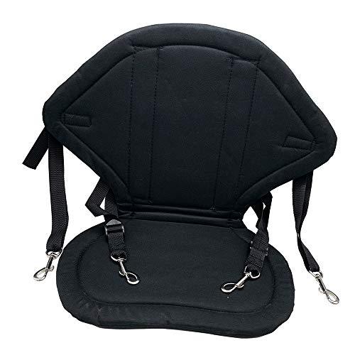 Kayak Seat, Sit on Top Kajak-Sitz mit Aufbewahrungstasche Adjustable Straps - Faltbare Gepolsterte Sitze und Rückenlehne - für Outdoor-Kayaking Kanu-und Angriffs-Boot
