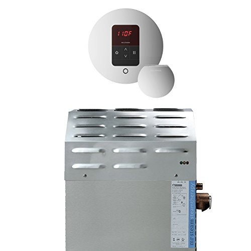 Find Discount Mr Steam S2EC1ITEMPORD 12kW Steam Bath Generator with iTempo Round Control, Polished C...