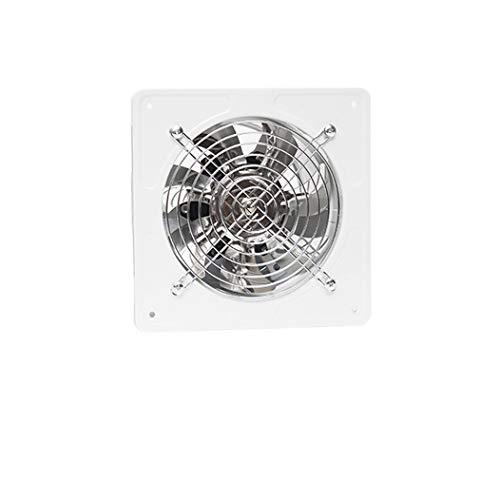 JYDQM Ventilador Extractor Ventilador de Escape montado en la Pared Bajo Nivel de Ruido Hogar Baño Cocina Garaje Ventilación de Aire Ventilación