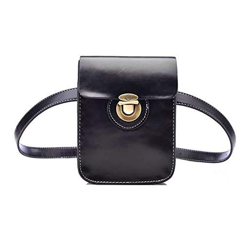 WTALL Moda cintura Fanny Pack cinturón bolsa teléfono bolsa viaje Hip Bum bolso pequeño monedero