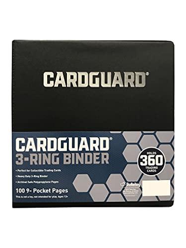 CardGuard Premium 3-Ring 3' Card Binder Including 100 Starter Series...