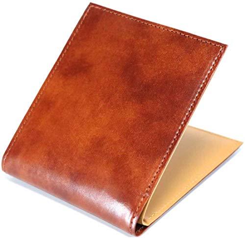 二つ折り財布 メンズ イルチアレザー レザー 二つ折り 財布 2つ折り ふたつおり 短財布 薄型 メンズ レディース 男性 小銭入れあり 薄型財布 折りたた