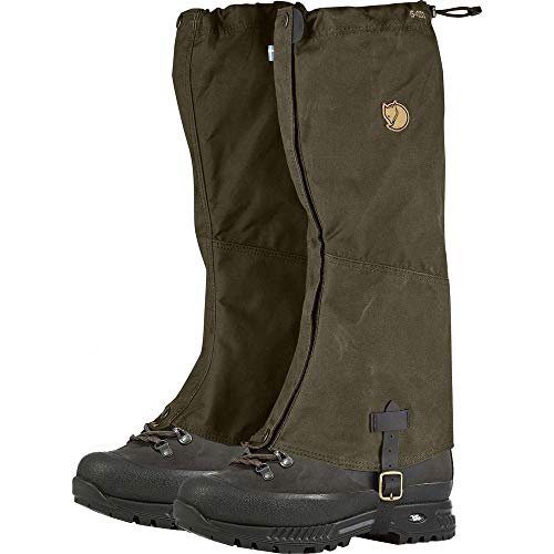 Fjallraven Singi Gaiters Accessories, Dark Olive, L/XL